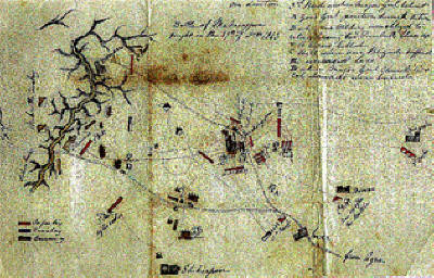 Henry's Drawing of the Battle of Maharajpore