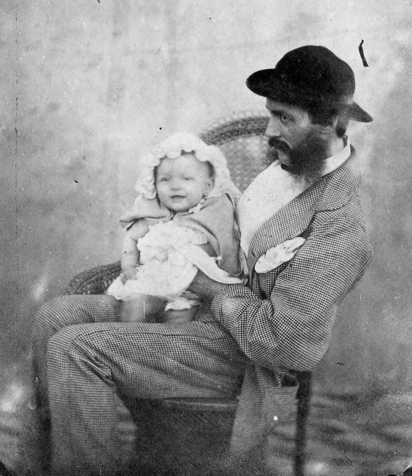 Morrice King Man and Daughter