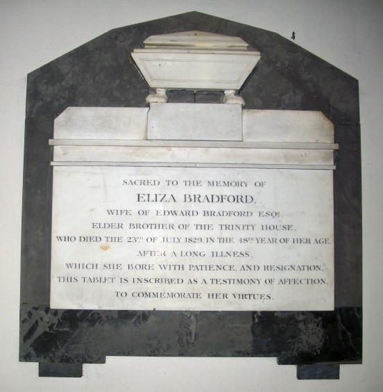 Eliza Bradford Memorial
