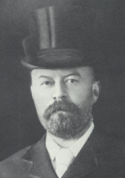 Frederick Man in top hat