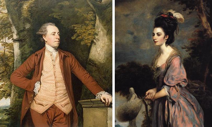 Mr and Mrs Richard Crofts by Sir Joshua Reynolds