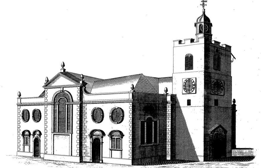 St. Mary Matfellon, Whitechapel