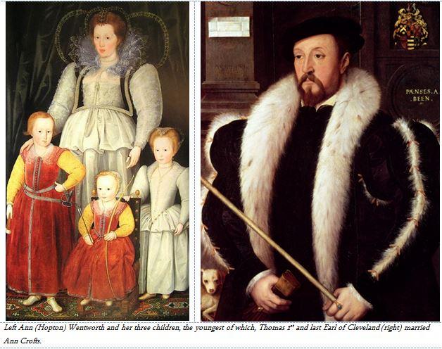 Ann Wentworth her children and her son