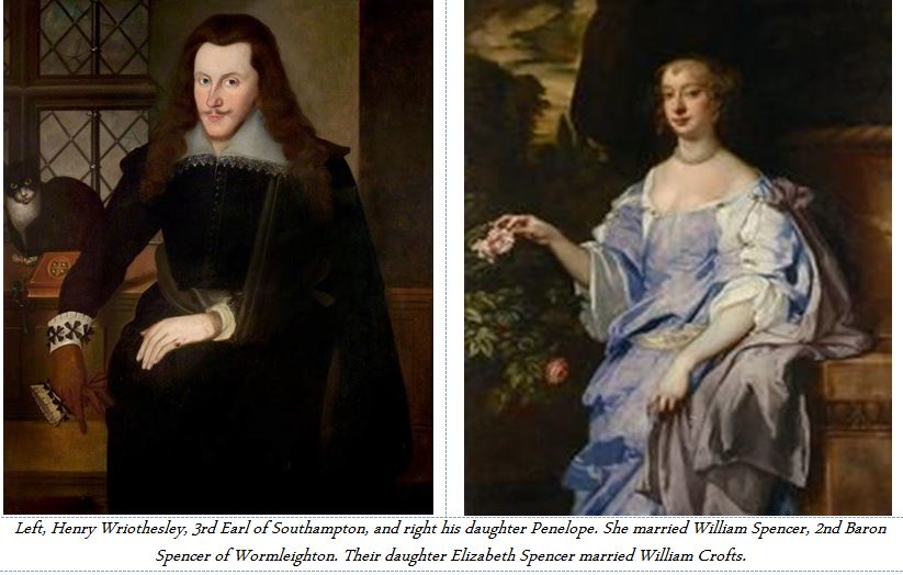 Henry Wriothesley and his daughter Penlope