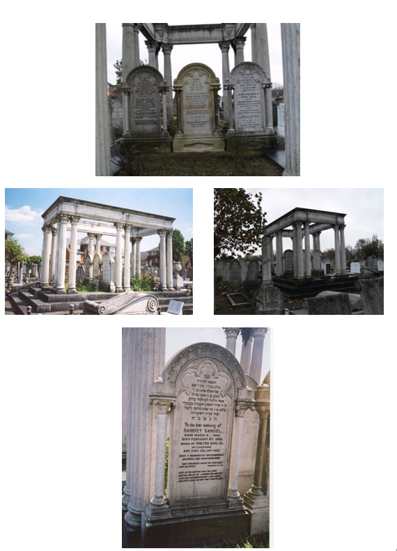 Samuel family Graves at Willesden