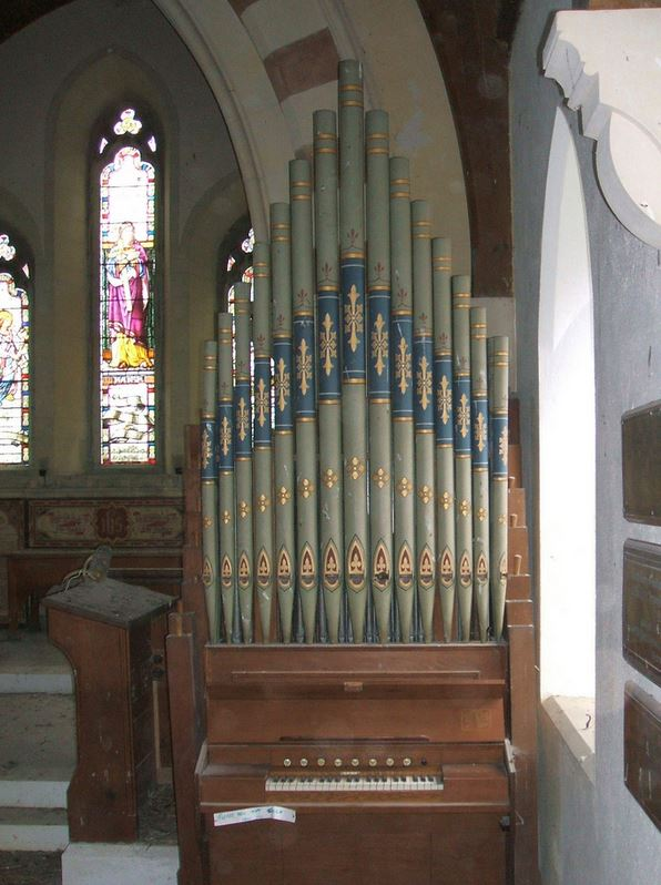 One of Thomas Casson's Organs