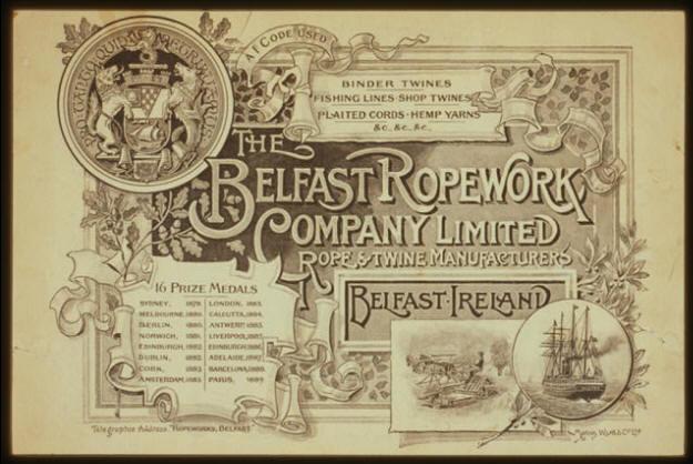 Belfast Ropeworks Brochure