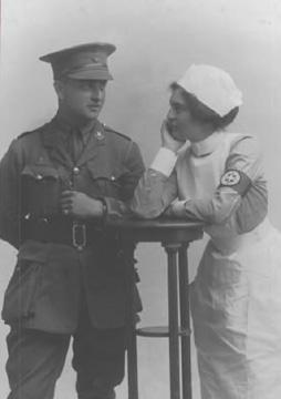John and his sister Nancy