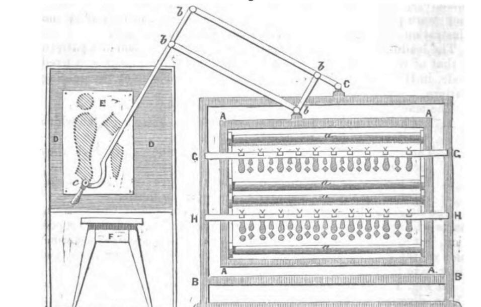 Illustration of Louis Schwabe machine