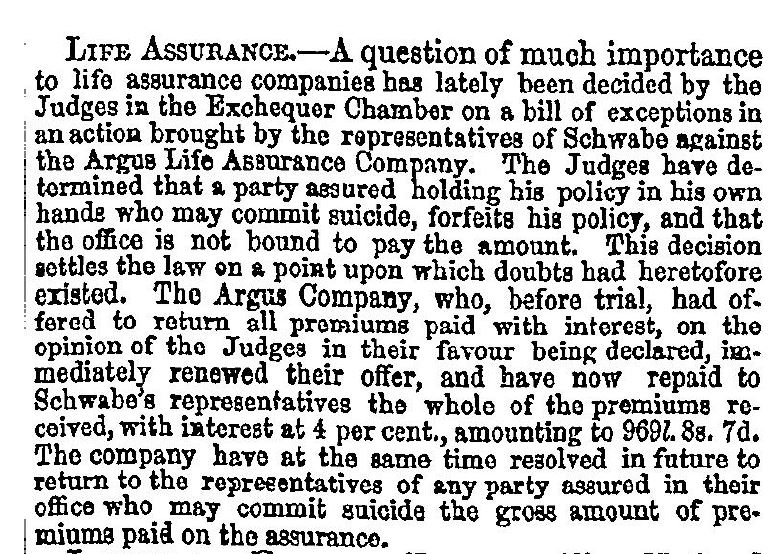 The Times 27 August 1846