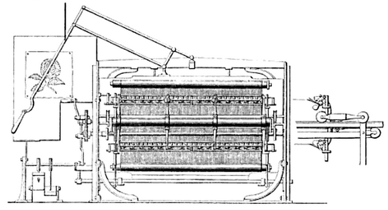 Schwabe's Jacquard Loom