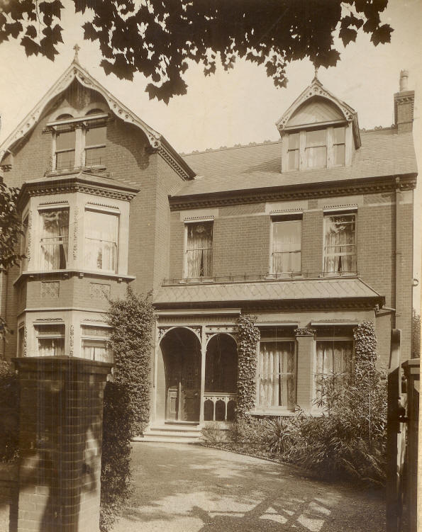 No. 6 Mapesbury Road in the 1920's