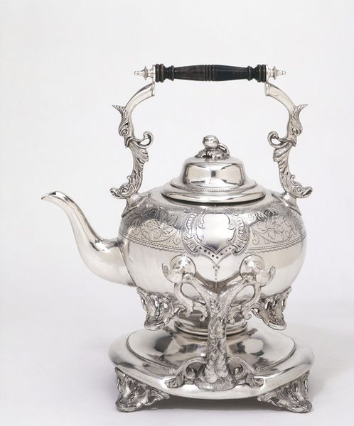 Charles L Reis Silver Pot at V and A