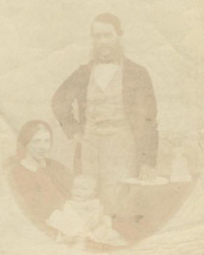 Morrice, Jane, and their daughter Eliza