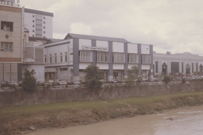 Boustead's Headquarters in Kuala Lumpur next to the Klang River 1964 taken by the author
