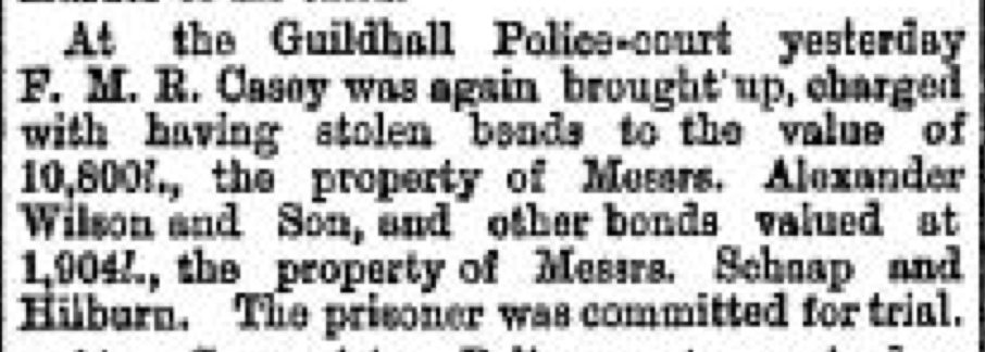 The Daily News, 29 August 1888