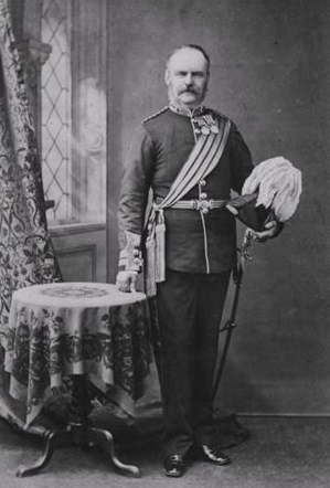 Major General Desborough Webber-Harris
