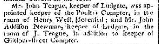 General Evening Post May 29 1800