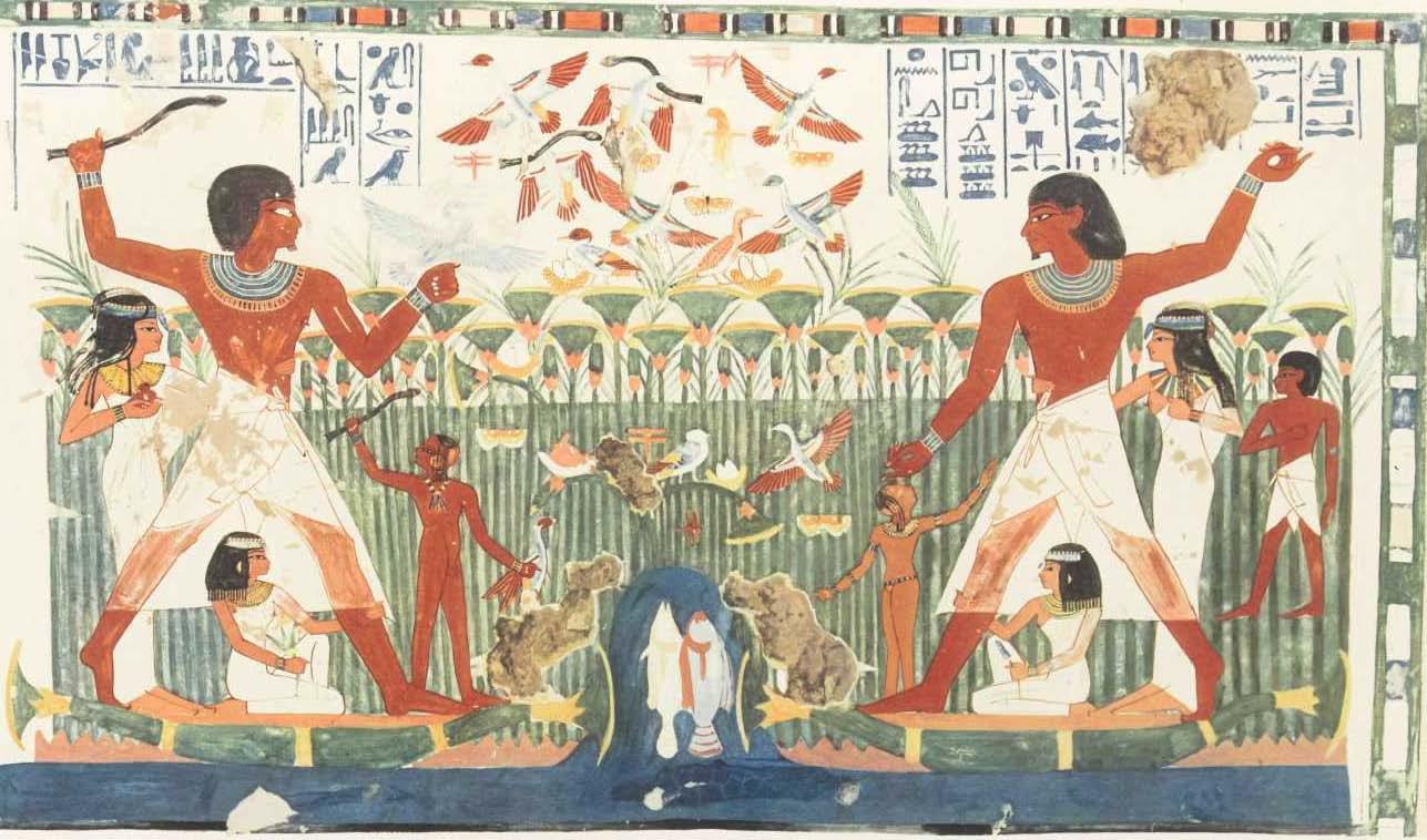 Francis Unwin Egyptian Tomb Drawing Plate XXIV