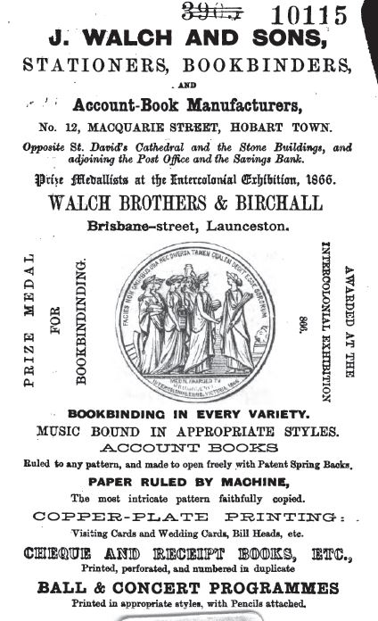 J Walch and Sons Advertisement2