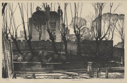 Hampstead Heath by F. S. Unwin