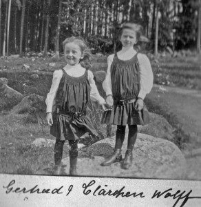 1905 Otto Wolff's two daughters edited1