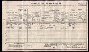 Edwin H Bresaluer on the 1911 census
