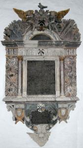 LewisIncledon_Died1698_Monument_BrauntonChurch_Devon