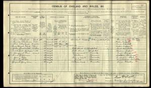 Louis Bresaluer on 1911 Census