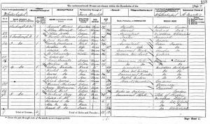 Moritz Breslauer on 1871 census