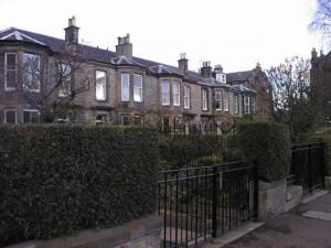 49 Mayfield Road, Edinburgh where Albert was born