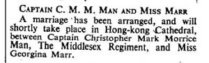 Christopher Man Engagemen Oct 12 1940
