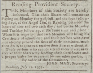 John Man July 24 1797