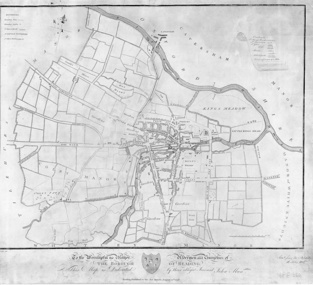 John Man's Map of Reading