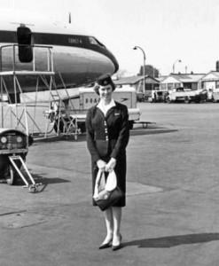 renee as a BOAC air hostess 400 dpi