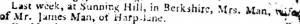 Death Notice of Sarah (Roberts) Man April 25 1804