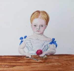 Emily Cumberland Greenaway Portrait