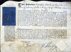 James Man Apprentice to William Humfrey