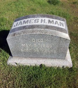 James Henry Man Grave2