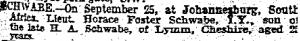 death-of-horace-foster-schwabe-oct-1-1901